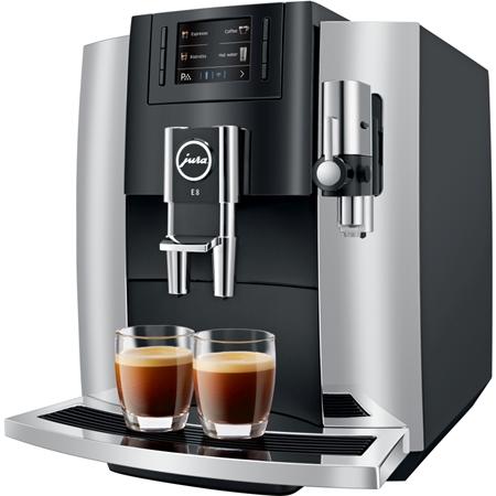 Jura E8 Chroom volautomaat koffiemachine