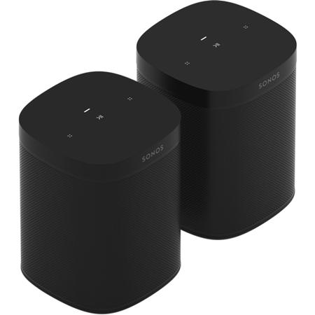 2x Sonos One SL