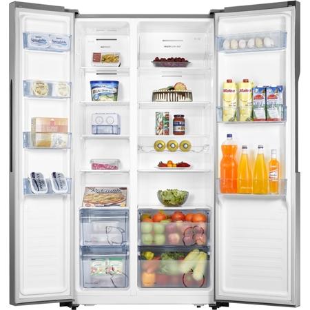 ETNA AKV1178RVS Amerikaanse koelkast