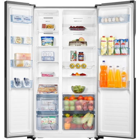 ETNA AKV1178ZWA Amerikaanse koelkast