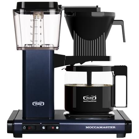 Moccamaster KBG 741 AO Midnight Blue koffiezetapparaat