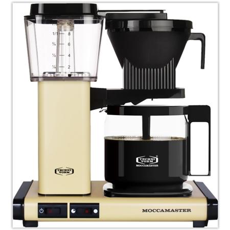 Moccamaster KBG 741 AO Pastel Yellow koffiezetapparaat