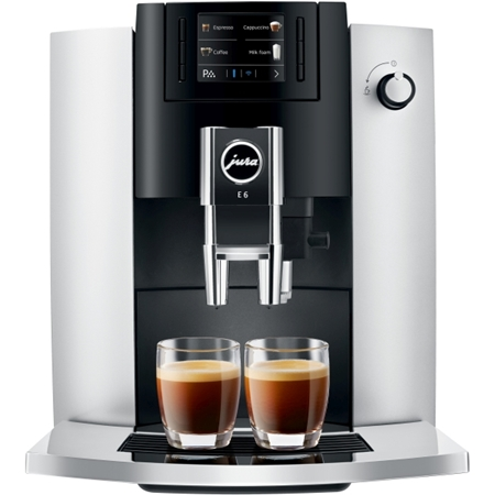 Jura E6 Platina volautomaat koffiemachine