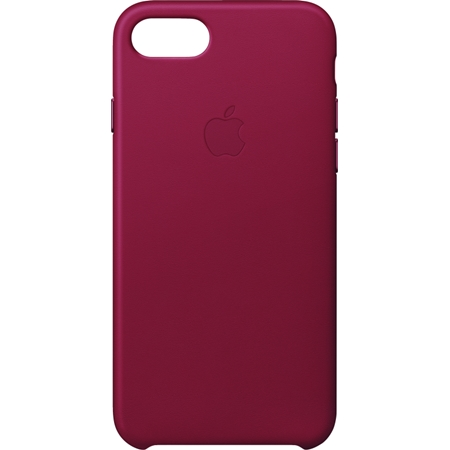 Apple iPhone 8/7 leren hoesje rood