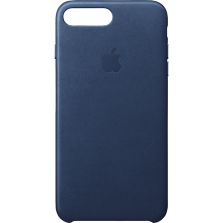 Apple iPhone 8 Plus/7 Plus leren hoesje midnight blue