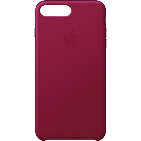 Apple iPhone 8 Plus/7 Plus leren hoesje rood
