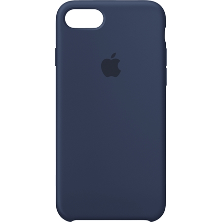 Apple iPhone 8/7 Siliconenhoesje midnight blue