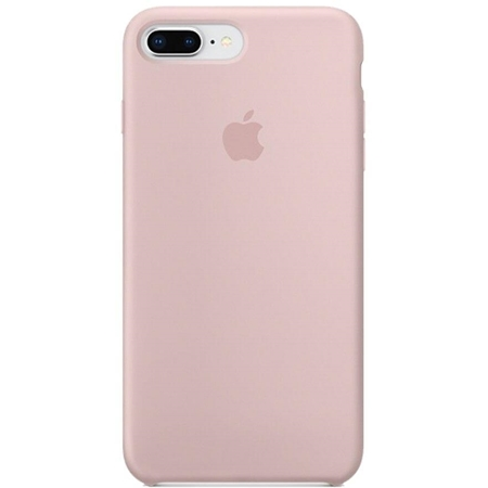 Apple iPhone 8/7 Siliconenhoesje pink sand