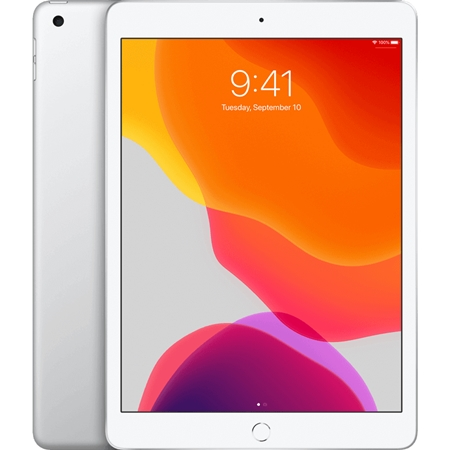 Apple iPad 10.2 2019 Wifi + 4G 128GB zilver