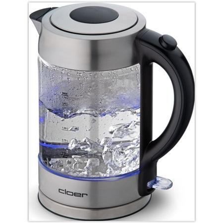 Cloer Waterkoker 4429 RVS-glas