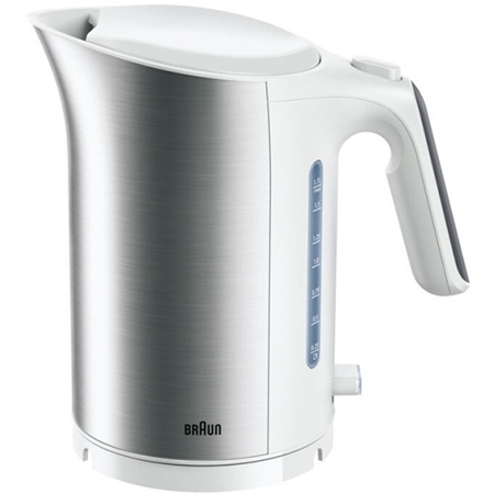 Braun WK 5100 WH ID Breakfast Collectie RVS waterkoker