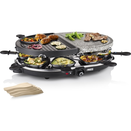 Princess 162710 Oval Steengrill Party gourmetstel