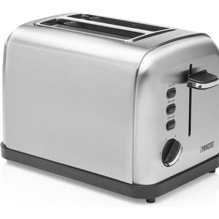 Princess 142354 Toaster Steel Style 2 Broodrooster