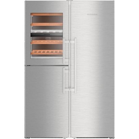 Liebherr SBSes 8486-21 Amerikaanse koelkast