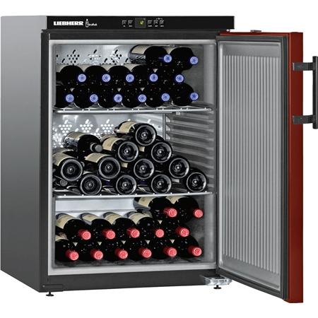 Liebherr WKr 1811-21 Vinothek wijnkoelkast Matzwart/Bordeauxrood