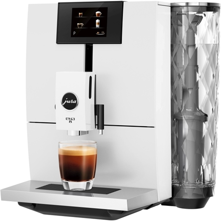 JURA ENA 8 Touch Nordic White volautomaat koffiemachine