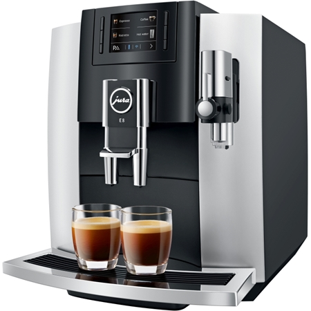 JURA E8 Platina volautomaat koffiemachine