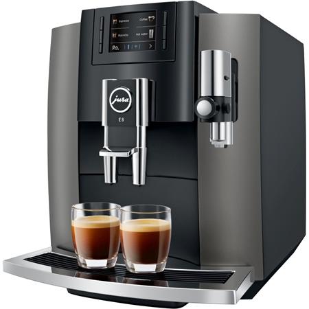 Jura E8 Dark Inox volautomaat koffiemachine
