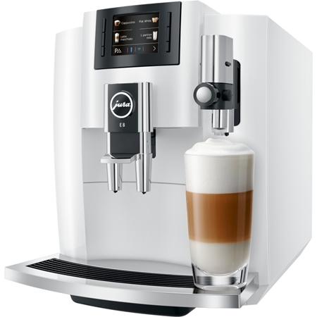 JURA E8 Piano White volautomaat koffiemachine