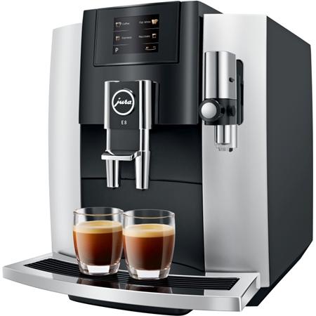 Jura E8 Touch Platina volautomaat koffiemachine