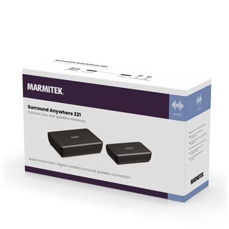 Marmitek Surround Anywhere 221 Audio transmitter