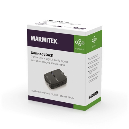 Marmitek Connect DA21 Audio converter