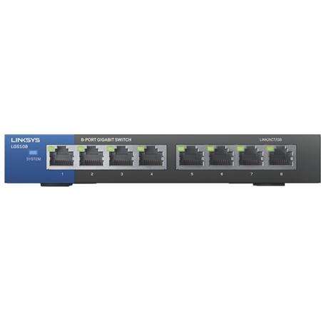 Linksys LGS108 8-poorts Desktop Gigabit