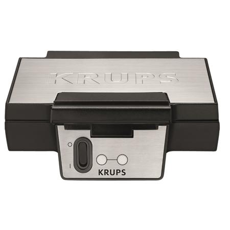 Krups FDK251 zwart-RVS