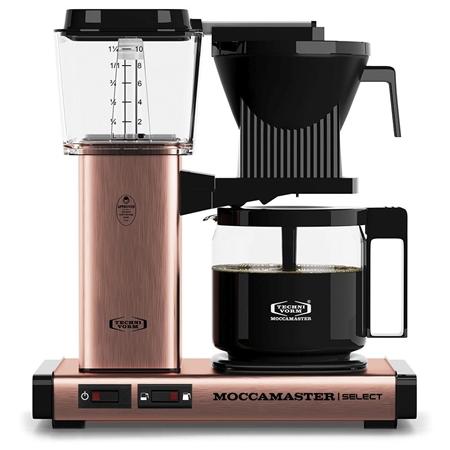 Moccamaster KBG Select Copper koffiezetapparaat
