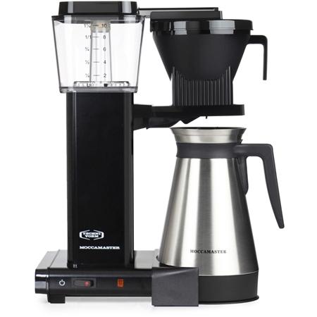 Moccamaster KBGT741 Black koffiezetapparaat