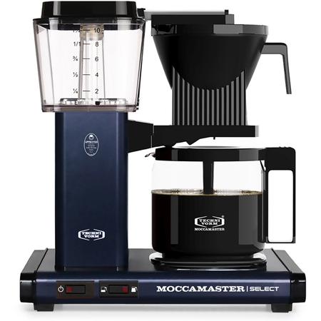 Moccamaster KBG Select Midnight Blue koffiezetapparaat