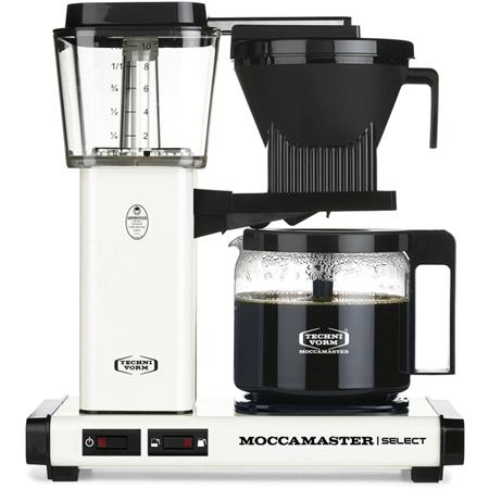 Moccamaster KBG Select Off-White koffiezetapparaat