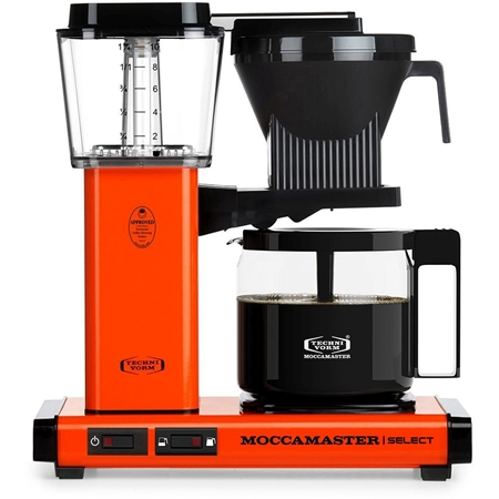 Moccamaster KBG Select Orange koffiezetapparaat