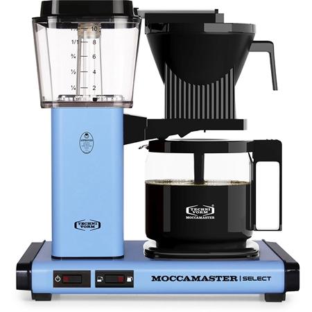Moccamaster KBG Select Pastel Blue koffiezetapparaat