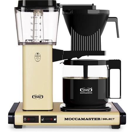 Moccamaster KBG Select Pastel Yellow koffiezetapparaat