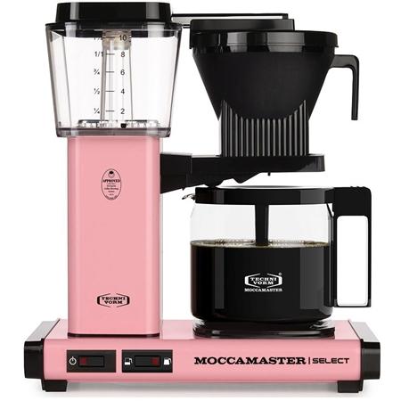 Moccamaster KBG Select Pink koffiezetapparaat