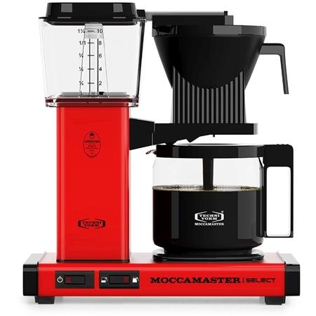 Moccamaster KBG Select Red koffiezetapparaat