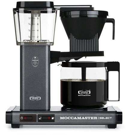 Moccamaster KBG Select Stone Grey koffiezetapparaat