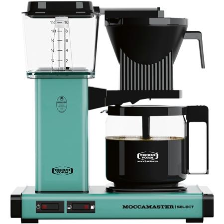 Moccamaster KBG Select Turquoise koffiezetapparaat