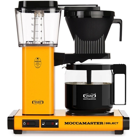 Moccamaster KBG Select Yellow Pepper koffiezetapparaat