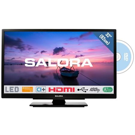 Salora 32HDB6505 HD LED TV met ingebouwde DVD-speler