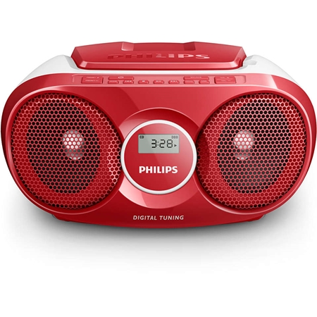 Philips AZ215R Radio-CD speler