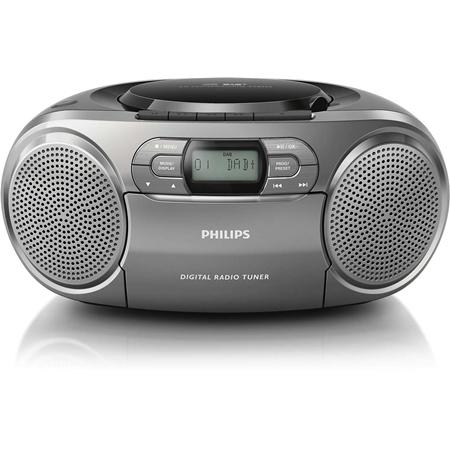 Philips AZB600 Radio-CD-cassette speler met DAB+
