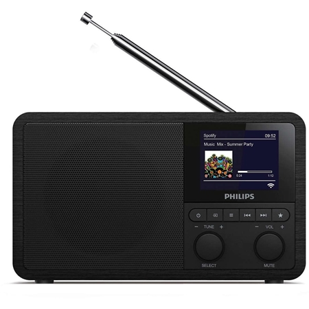 Philips TAPR802 Internetradio met DAB+