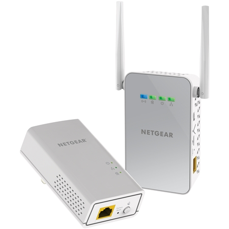 Netgear PLW1000 WiFi 1000 Mbps powerline 2 adapters