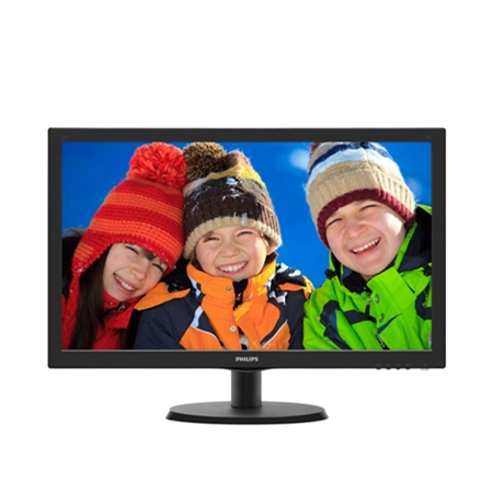 Philips 223V5LHSB2/00 zwart Monitor