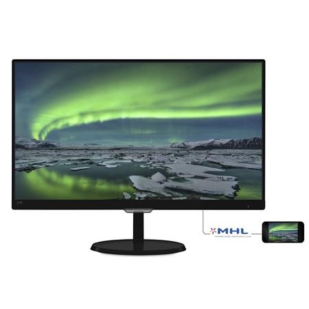 Philips 237E7QDSB/00 zwart Monitor