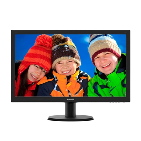 Philips 243V5LHAB/00 zwart Monitor