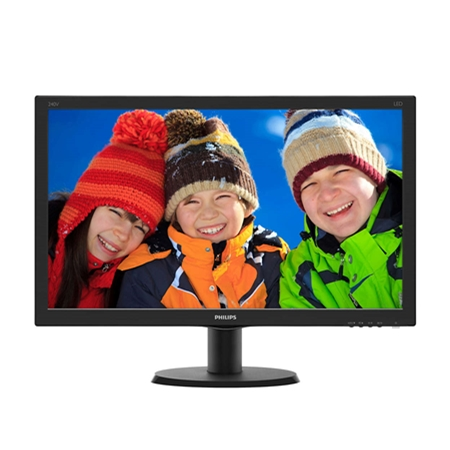 Philips 240V5QDAB/00 zwart Monitor