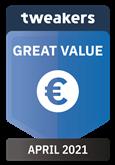 Tweakers Great Value Award